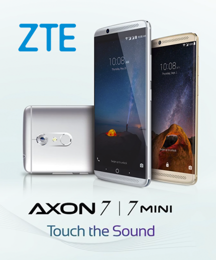 Spot ZTE AXON 7 – Touch The Sound